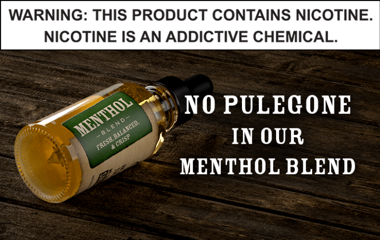MINT AND MENTHOL E-LIQUIDS SHOWN TO CONTAIN CARCINOGEN